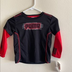 NWT Puma Long Sleeve Shirt